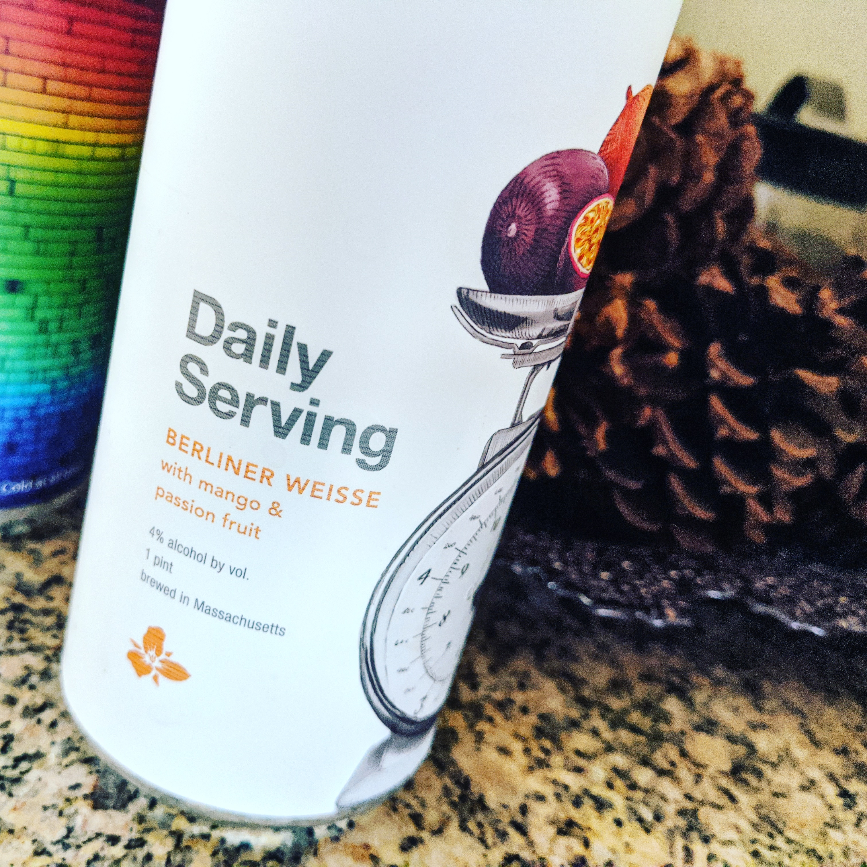Trillium Daily Serving: Mango & Passion Fruit. [Обзор пива].