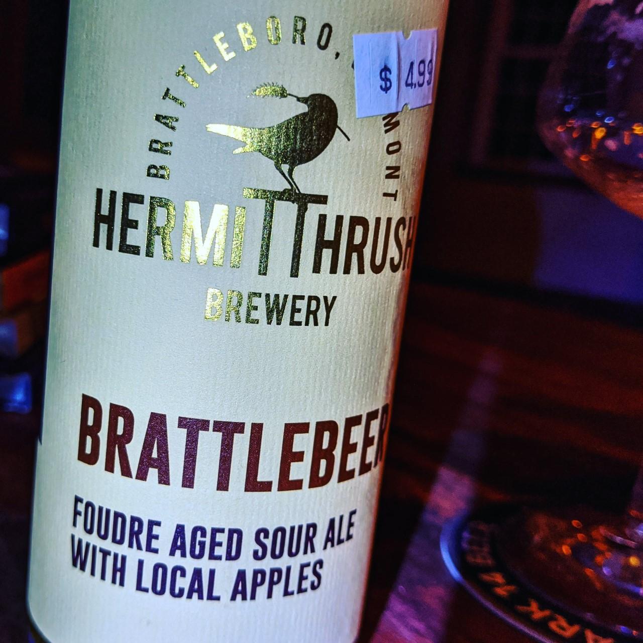 Hermit Thrush Brattlebeer. [Обзор пива].