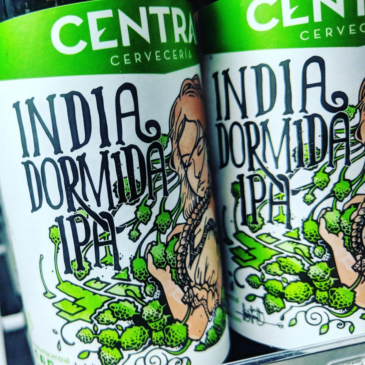 India Dormida IPA. [Обзор пива].