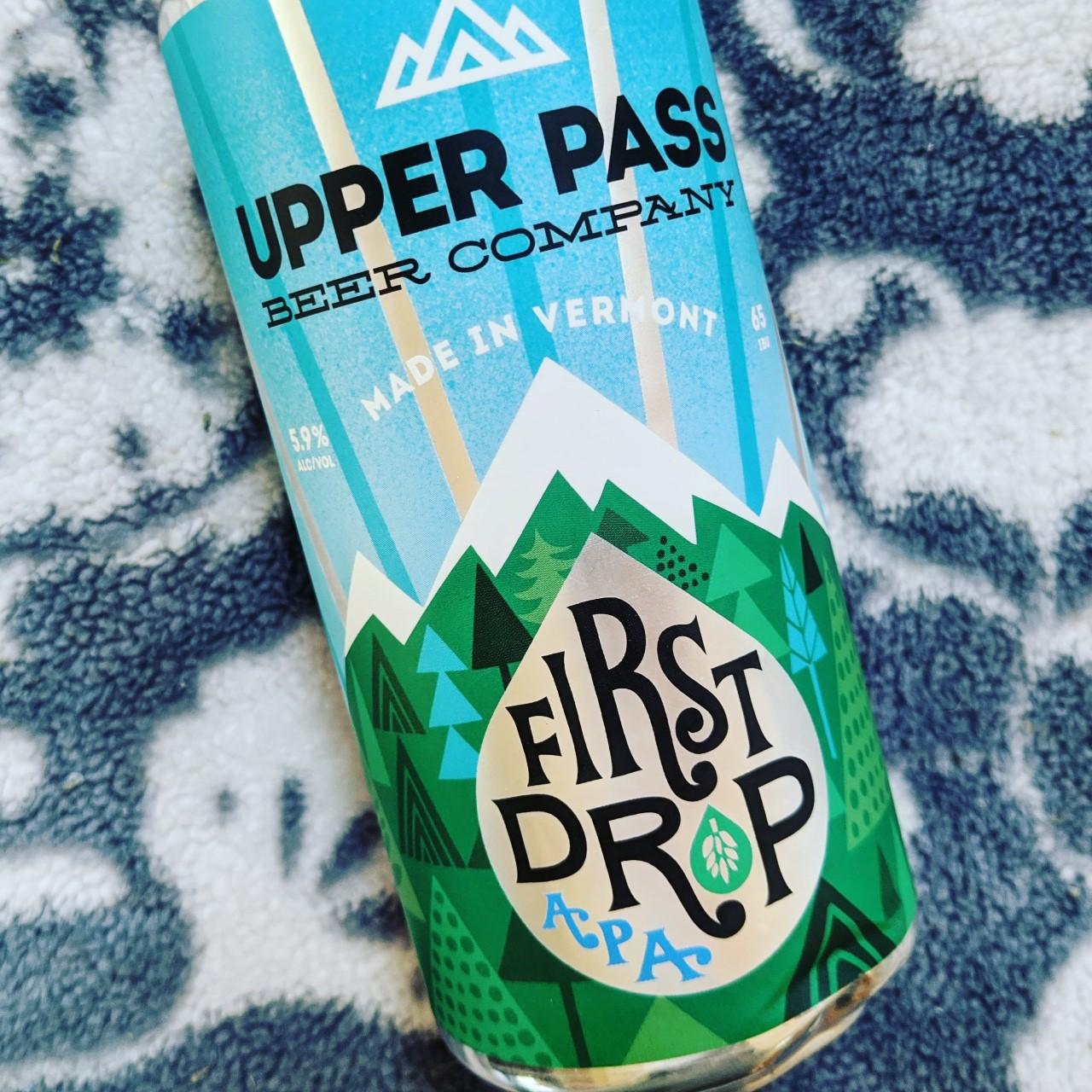 Upper Pass First Drop. [Обзор пива].