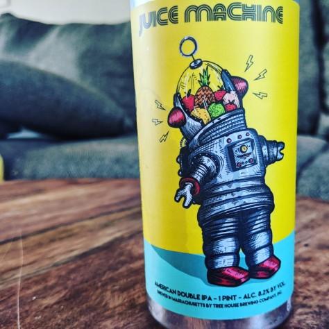 Tree House Juice Machine. [Обзор пива].