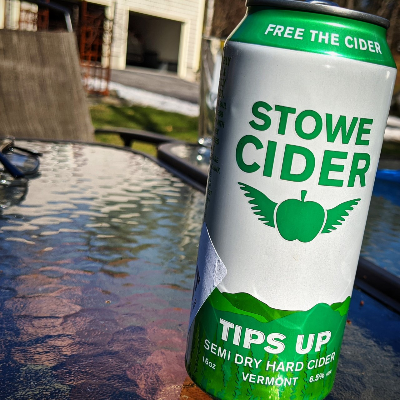 Stowe Tips Up. [Обзор сидра].