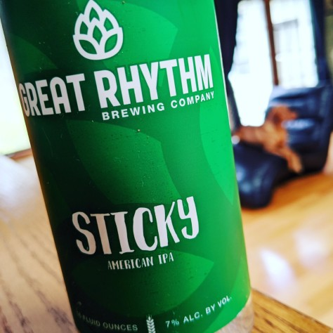 Great Rhythm Sticky. [Обзор пива].