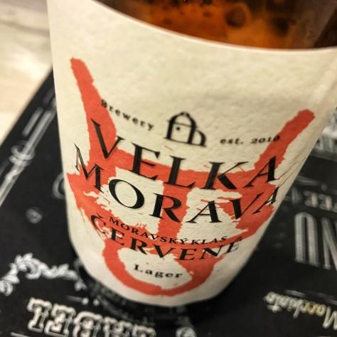 Velka Morava Moravsky Klas Cervene. [Обзор пива].