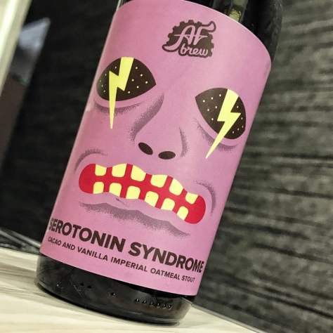 AF Brew Serotonin Syndrome. [Обзор пива].