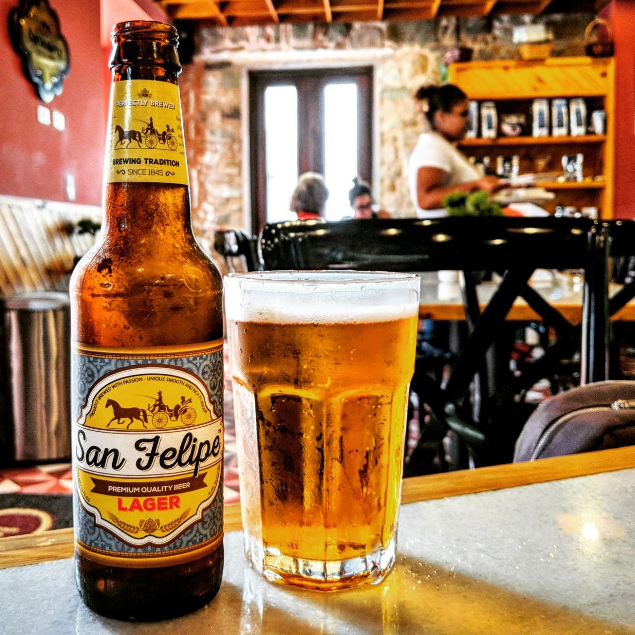 San Felipe Lager. [Обзор пива].