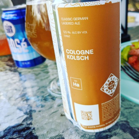 Great Marsh Cologne Kolsch. [Обзор пива].