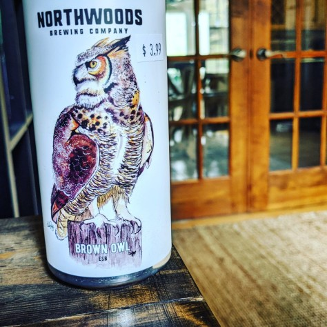 Northwoods Brown Owl. [Обзор пива].