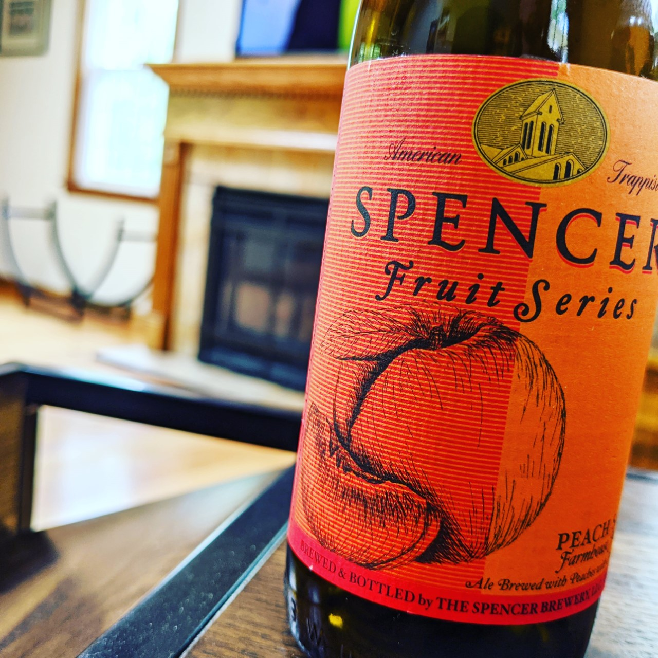 Spencer Peach Saison. [Обзор пива].