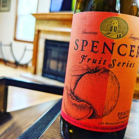 Spencer Peach Saison. [Обзор пива].