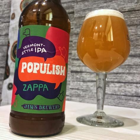 Jaws Populism Zappa. [Обзор пива].