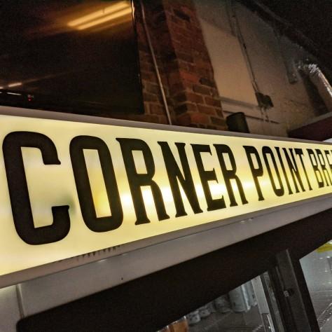 Крафтовая пивоварня. Corner Point. Фотоотчёт.