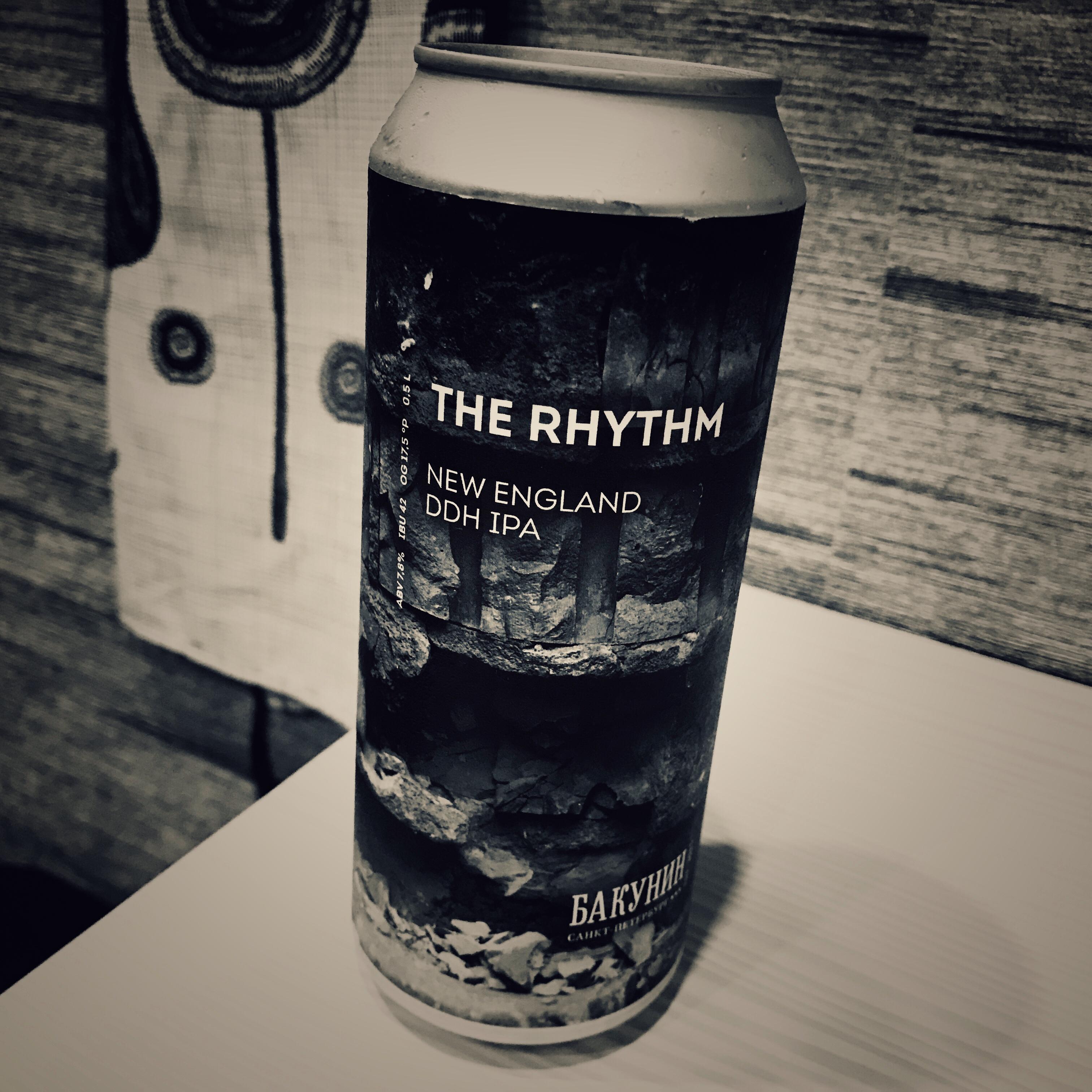 Bakunin The Rhythm. [Обзор пива].