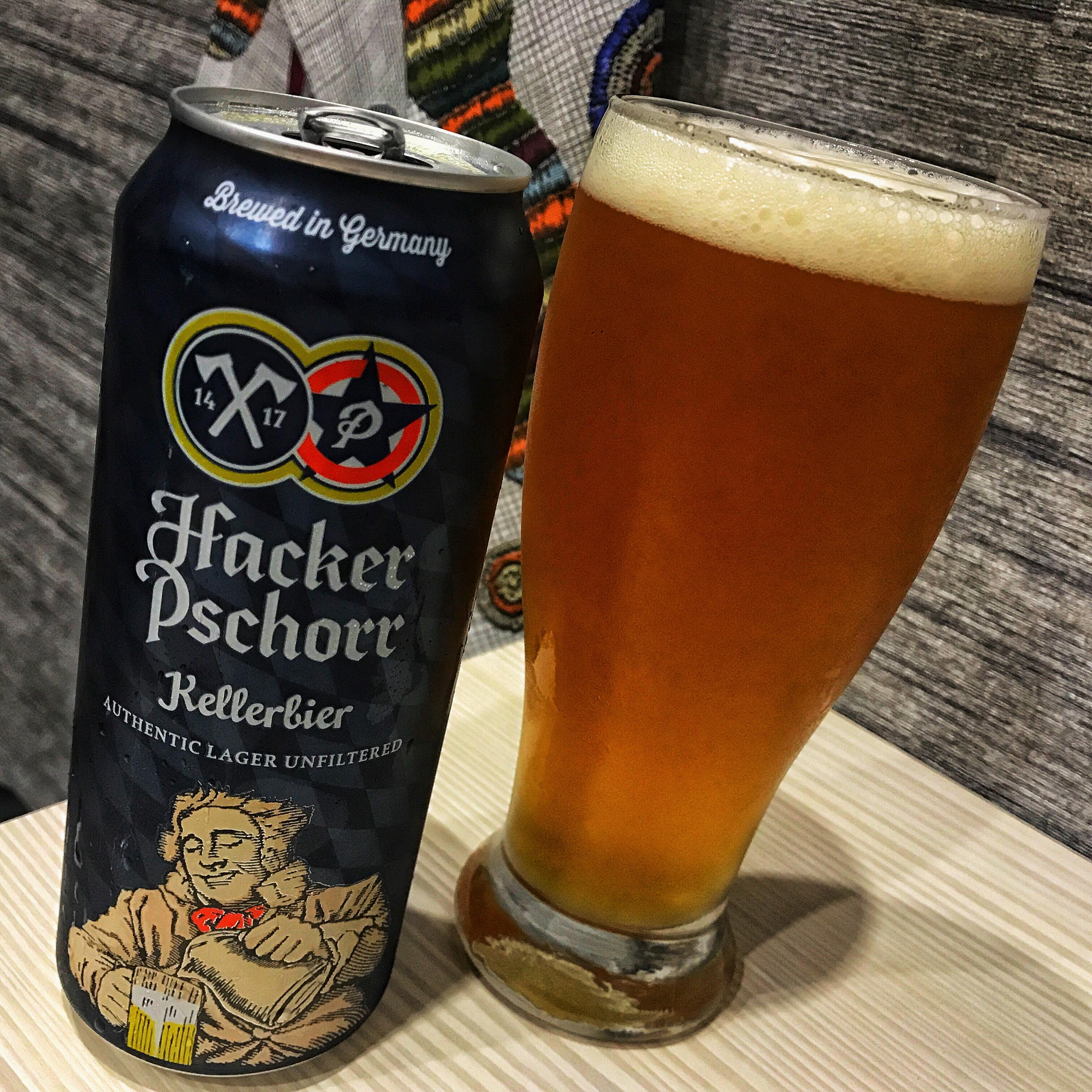 Hacker-Pschorr Kellerbier. [Обзор пива].