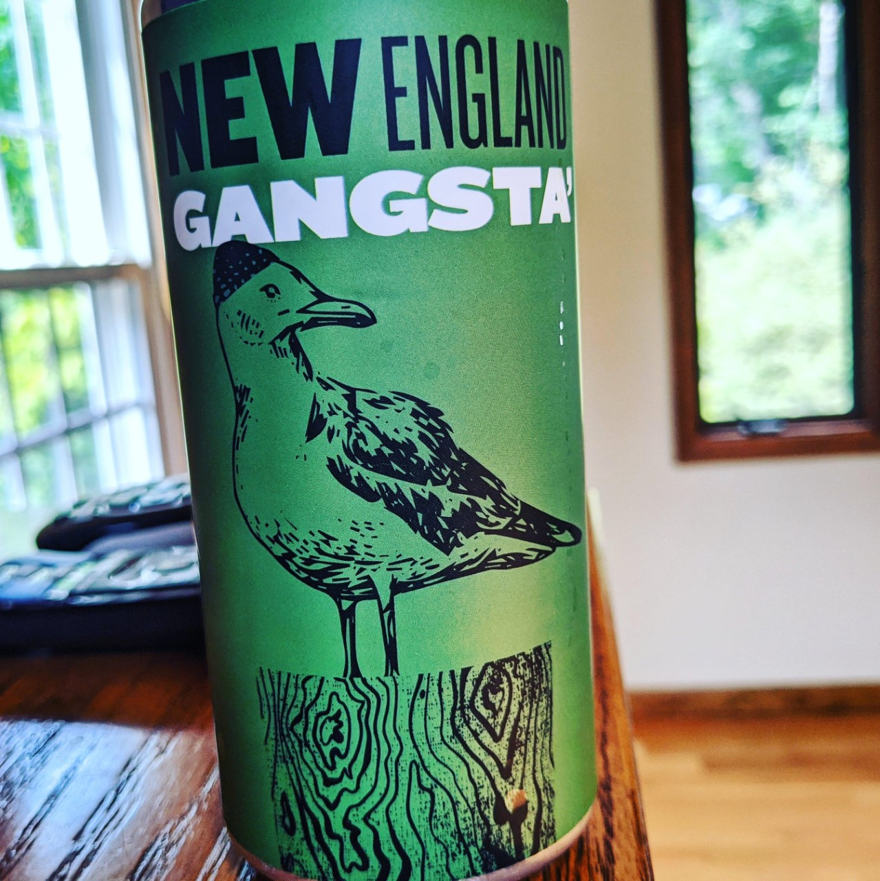 New England Gangsta. [Обзор пива].
