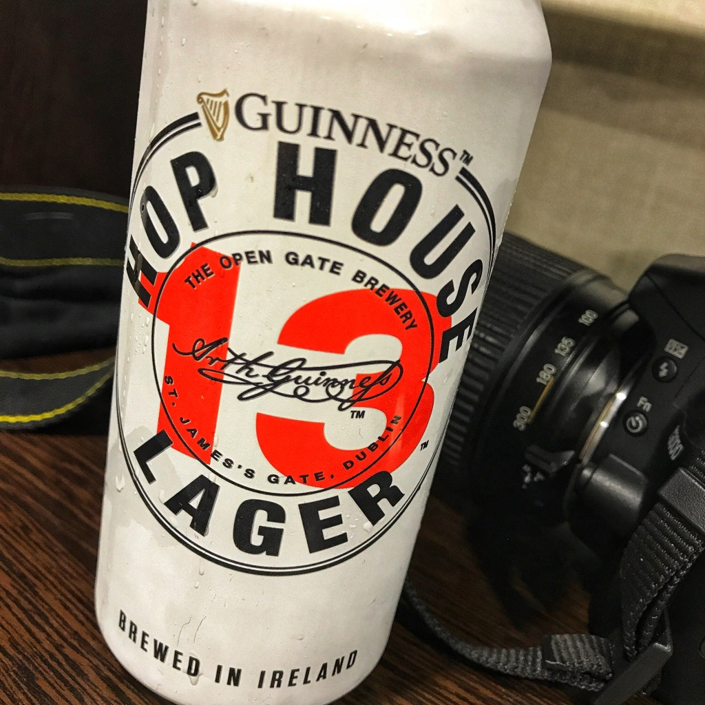 Guinness Hop House 13 Lager. [Обзор пива].