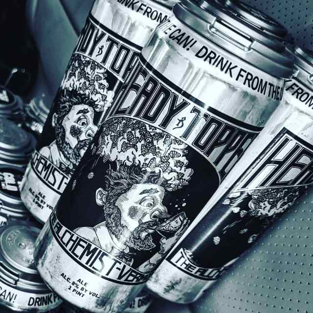 HEADY TOPPER IPA.