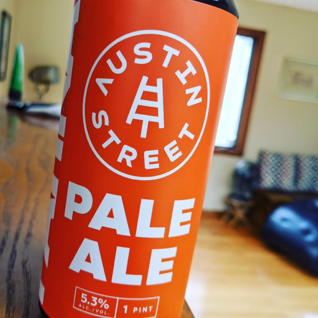 Austin Street Pale Ale. [Обзор пива].