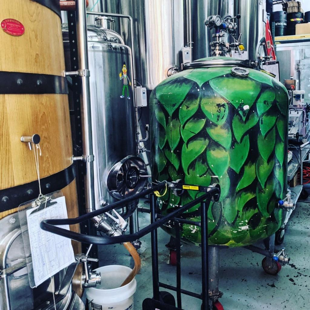 Крафтовая пивоварня. Four Quarters Brewing. Фотоотчёт.
