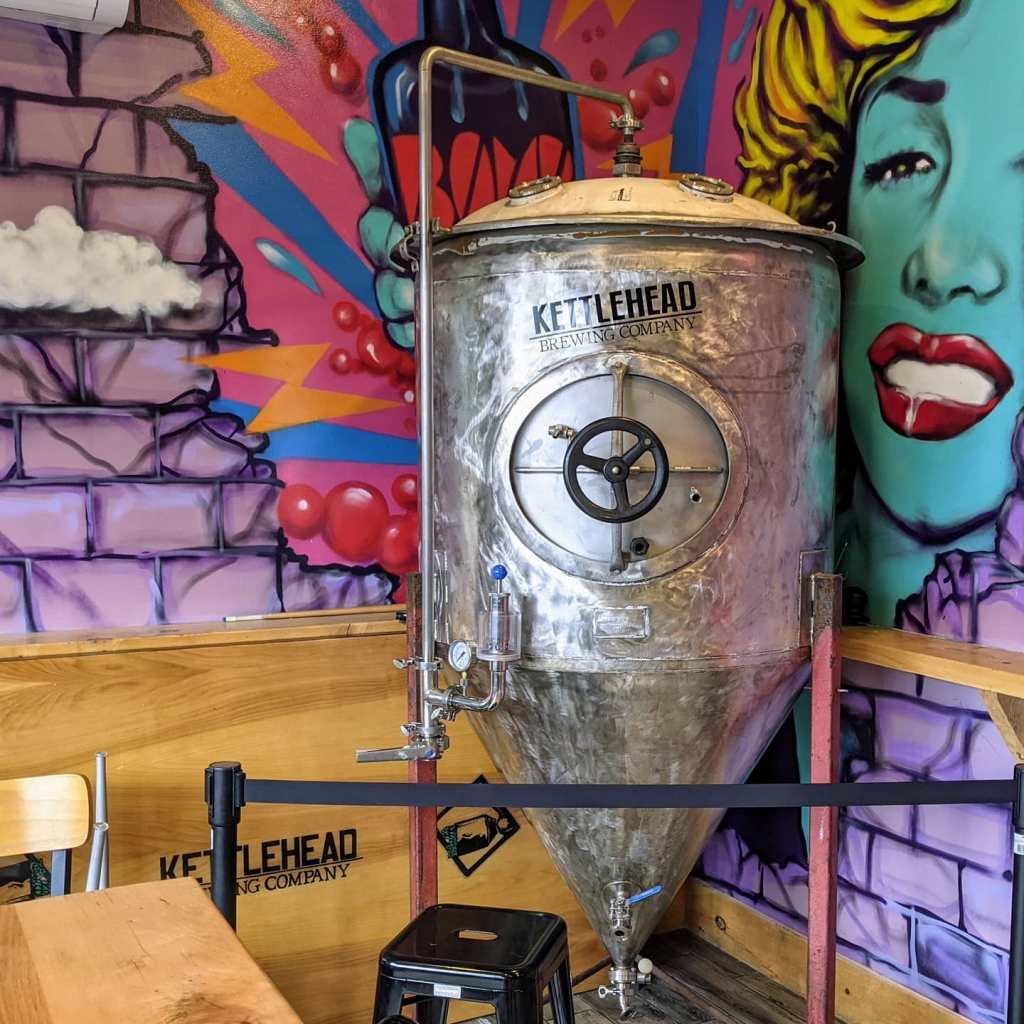 Крафтовая пивоварня. Kettlehead Brewing. Фотоотчёт.