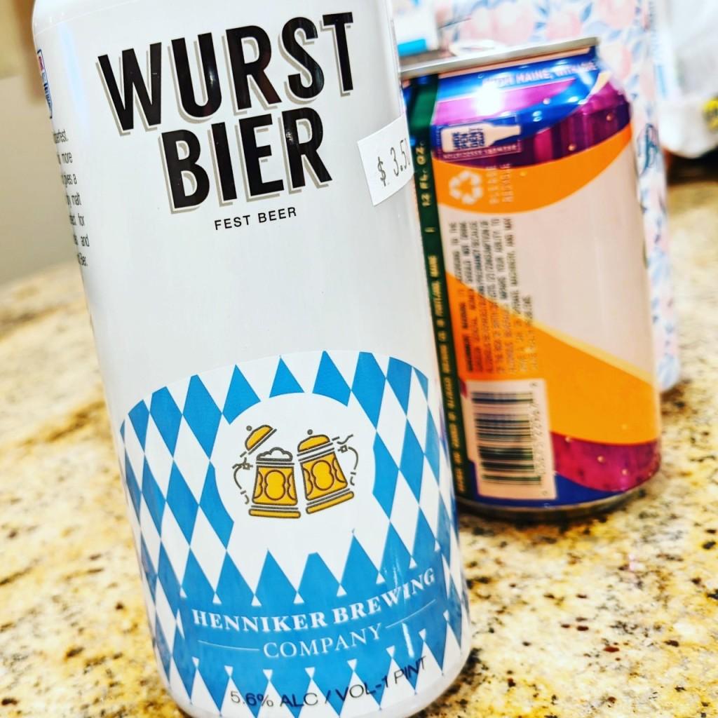 Henniker Wurst Bier. [Обзор пива].