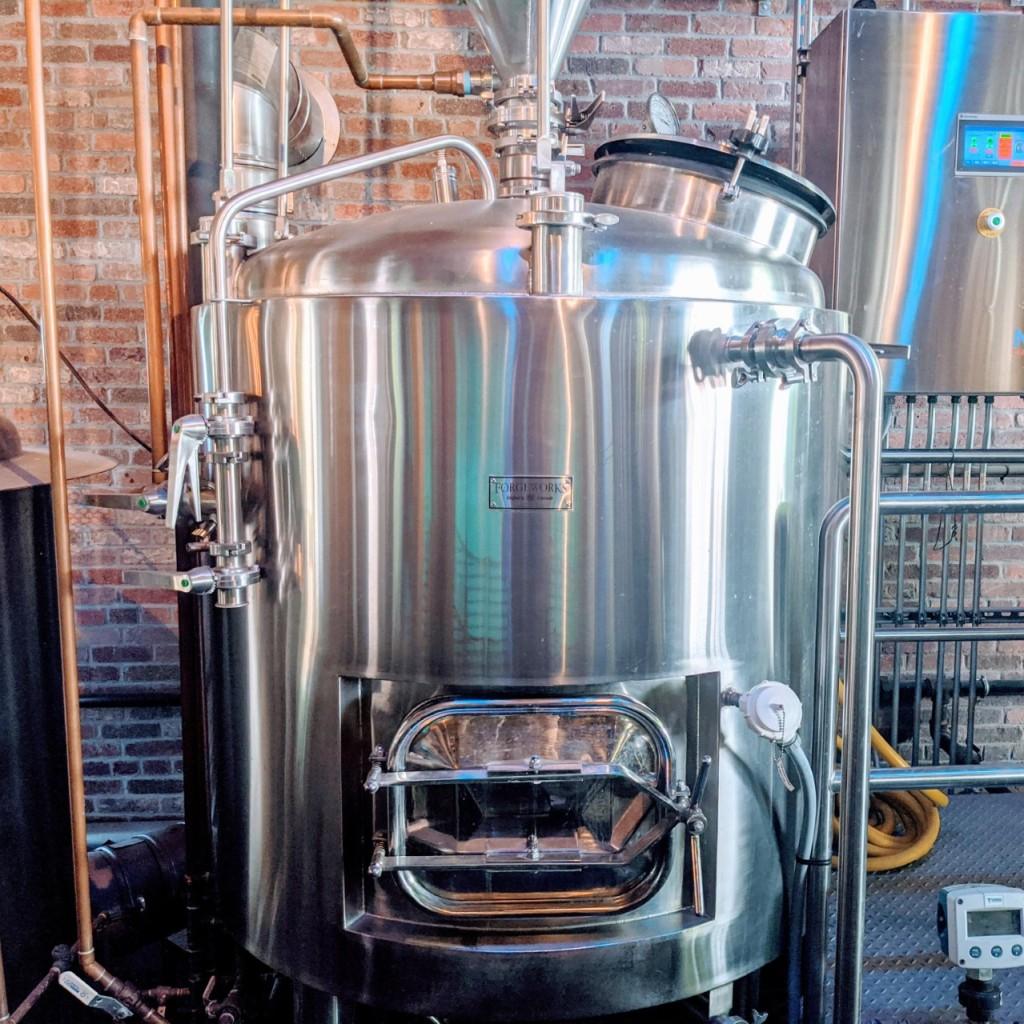 Крафтовая пивоварня. Foam Brewery. Фотоотчёт.