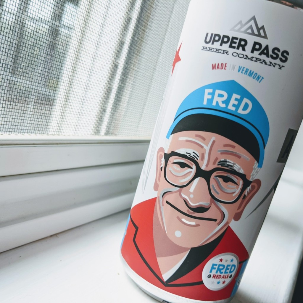 Upper Pass Fred Red Ale. [Обзор пива].