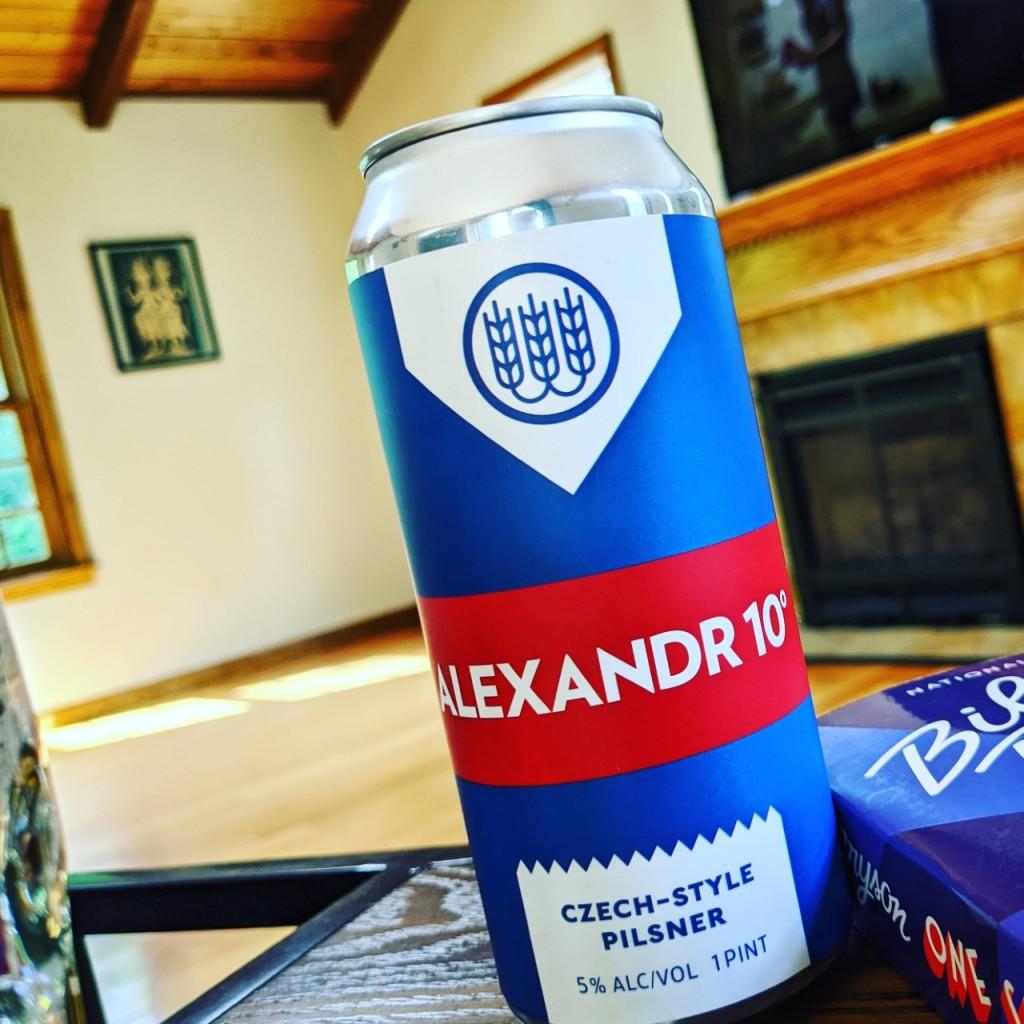 Schilling Alexandr 10°. [Обзор пива].