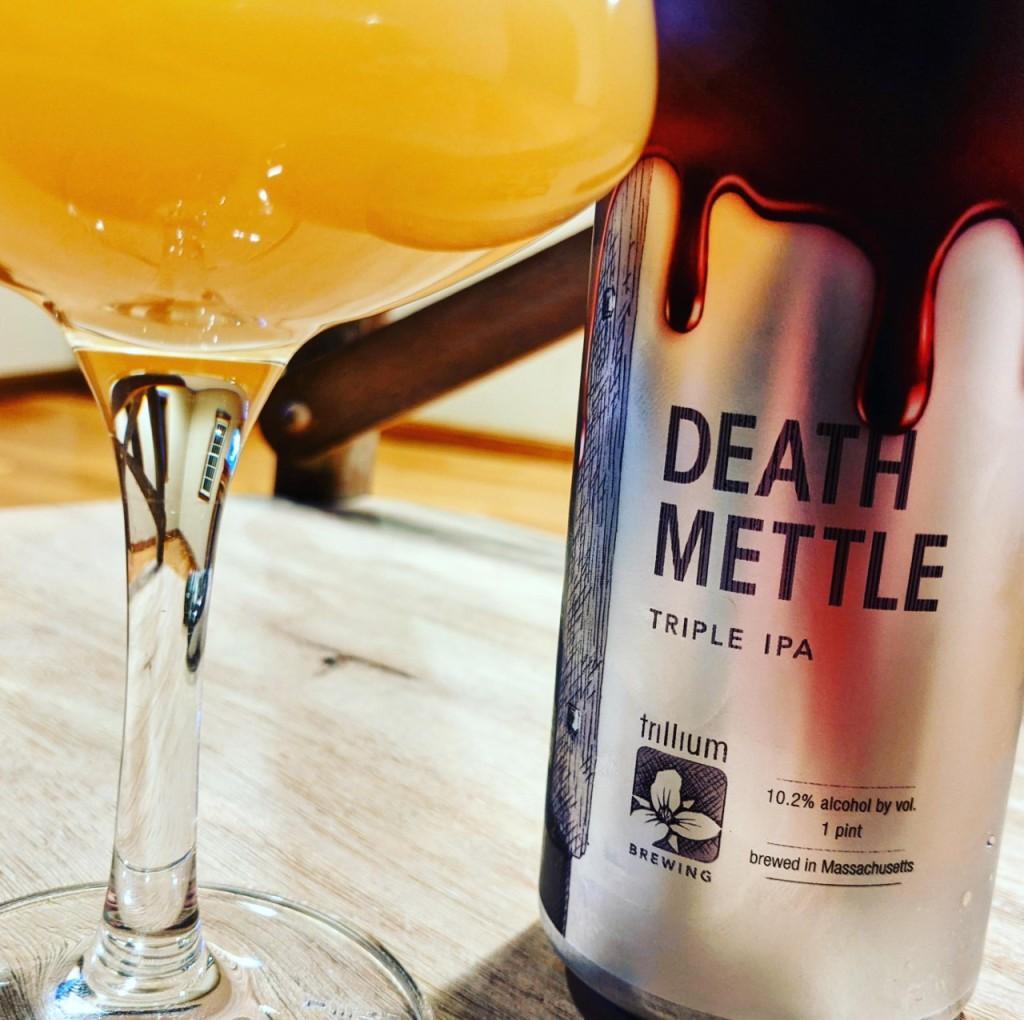 Trillium Death Mettle. [Обзор пива].