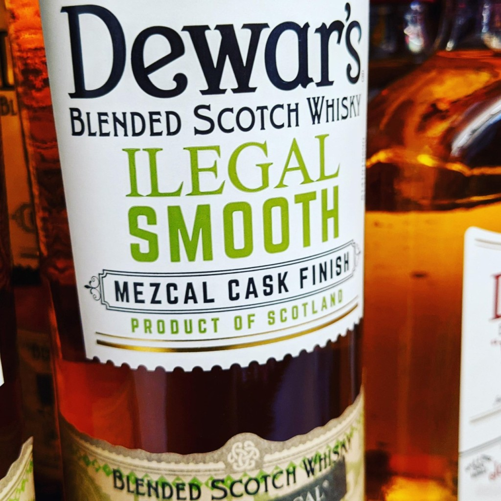 DEWAR'S ILEGAL SMOOTH MEZCAL FINISH. [ОБЗОР].