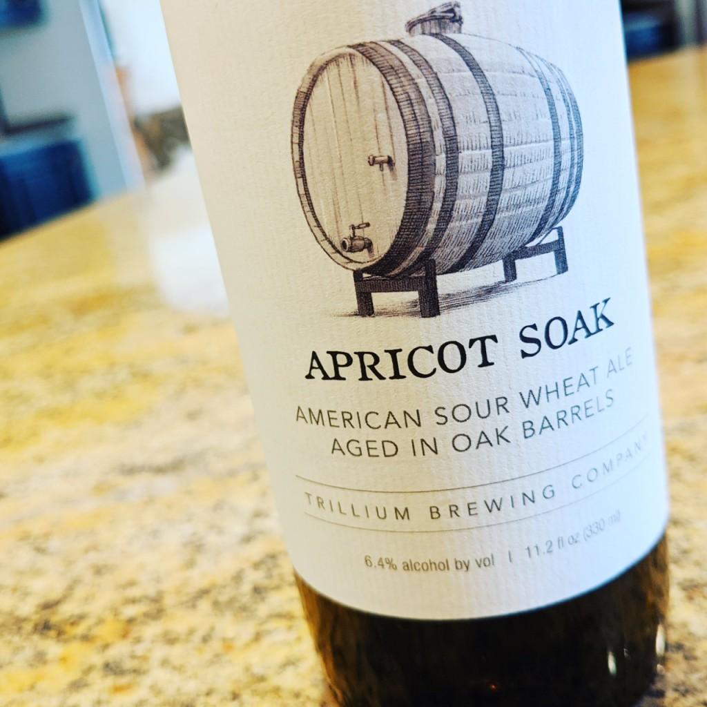 Trillium Apricot Soak. [Обзор пива].