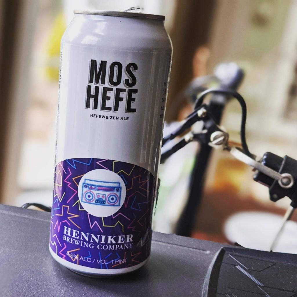 Henniker Mos Hefe. [Обзор пива].