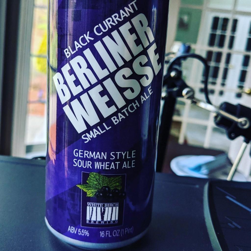 White Birch Beliner Weisse w/Black Currant. [Обзор пива].