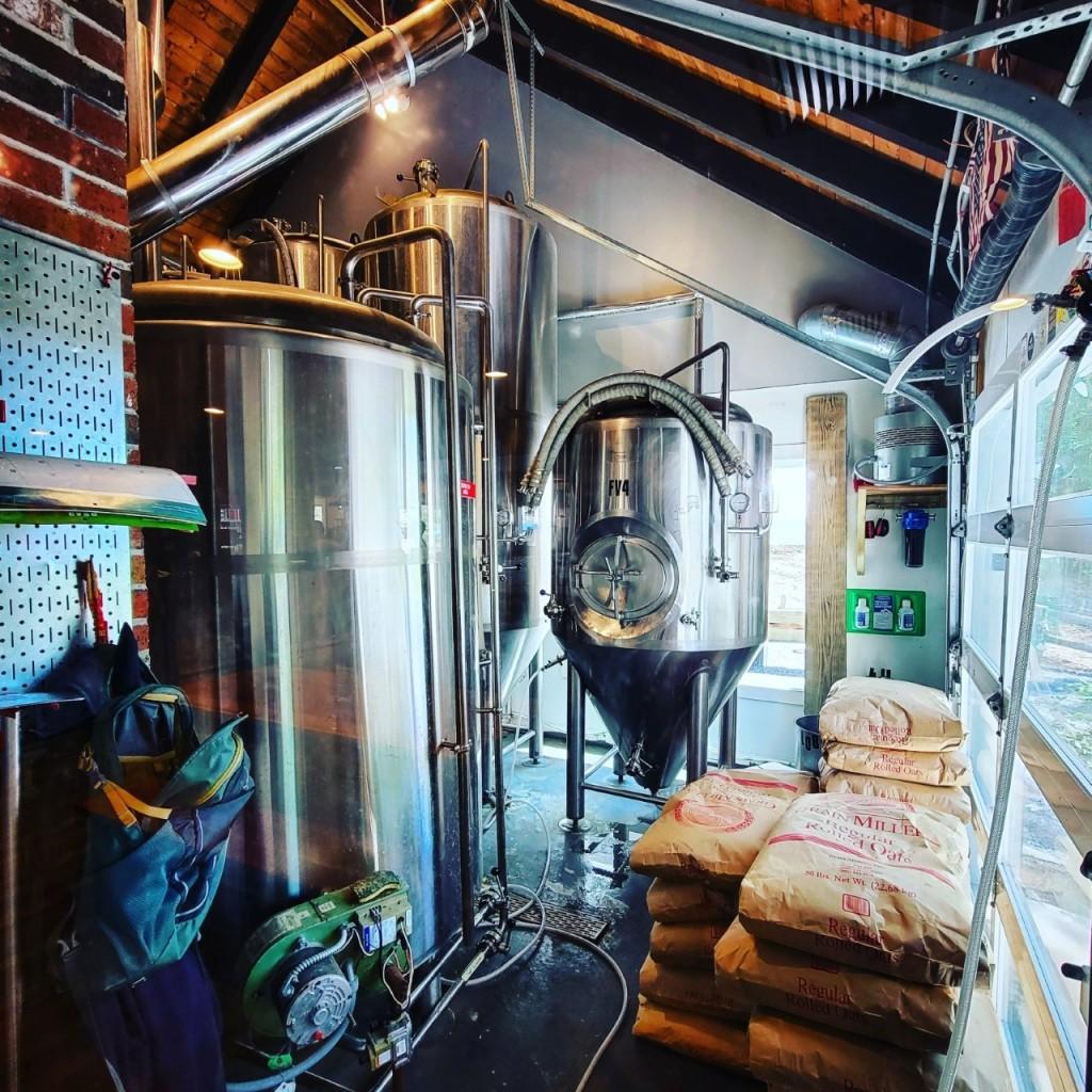 Крафтовая пивоварня. Naukabout. Фотоотчёт.